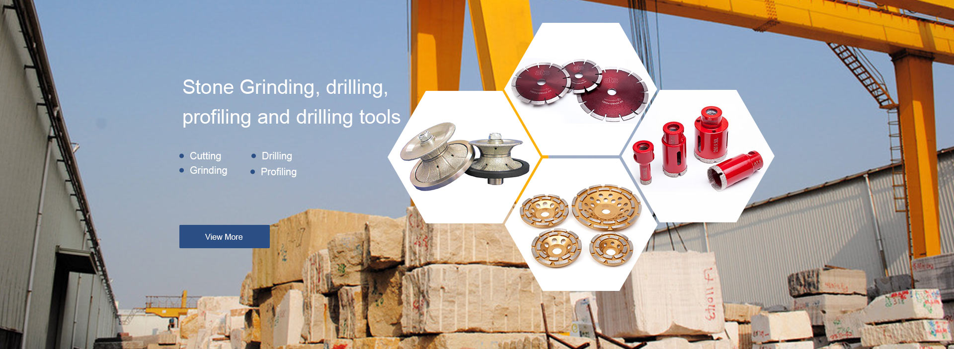 Stone Grinding Tools