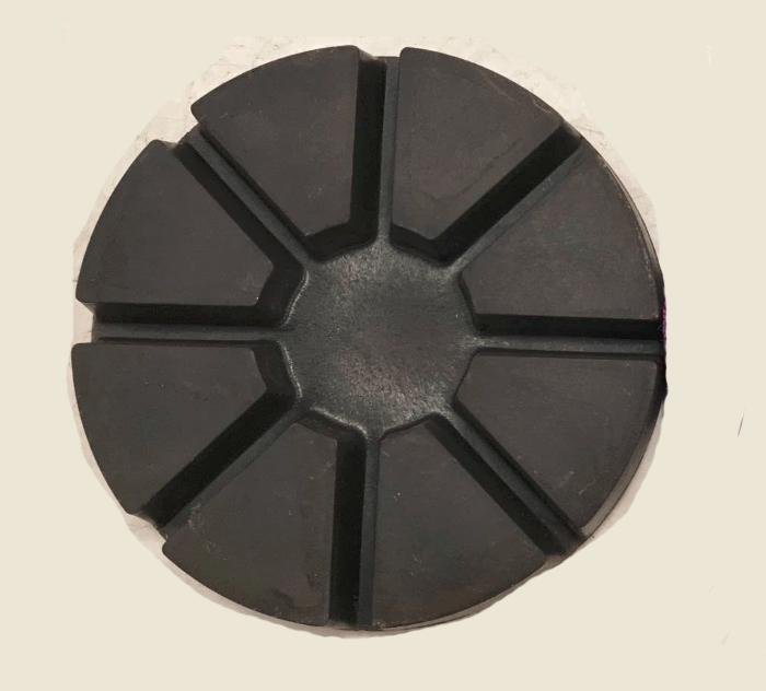 Wet 8 Pies Iron Hybrid Bond Black Transitional Pad