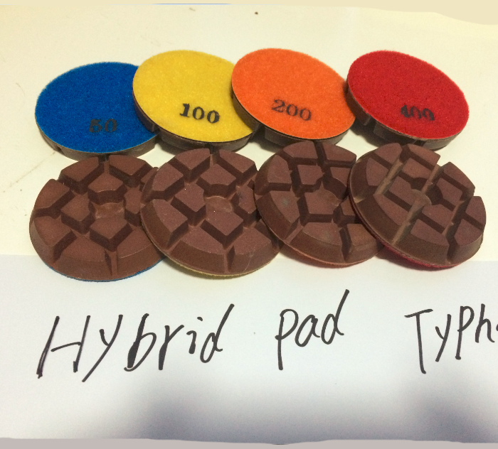 Dry Typhoon Copper Hybrid Bond Transitional Pad