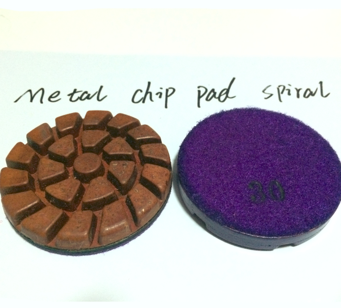 Semi Metallic Hybrid Resin Beveled Pads