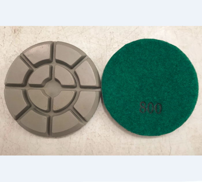 4 Inch Concrete Floor Resin Polishing Pad Typhoon