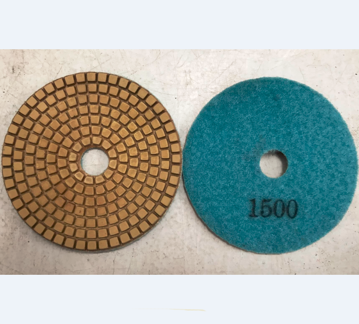 Flexible Concrete Polishing Pad