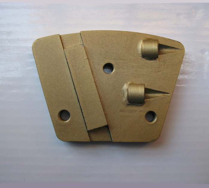 1/4 Round PCD scrapers / PCD wing / PCD grinding shoes / PCD Cutter for epoxy or paint coatings removing