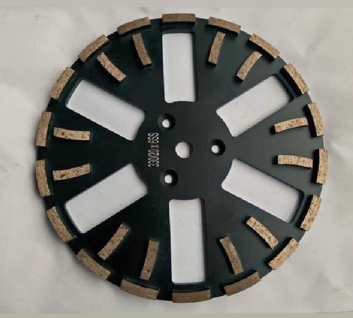 330mm Diamond Grinding Plate for grinding concrete, terrazzo and masonry surfaces