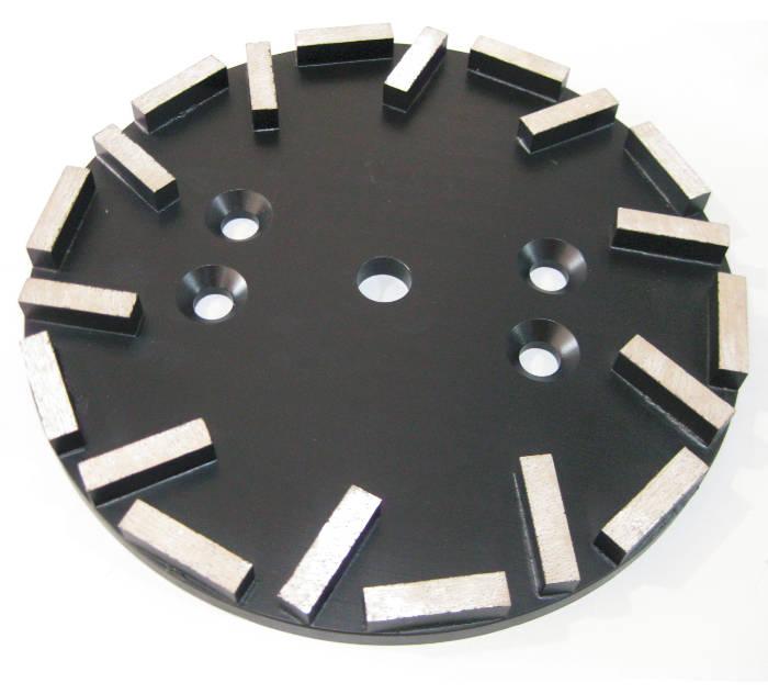10 inch (250mm) Premium Grinding Plate