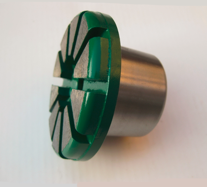 10 Segment Diamond Grinding Plug 3