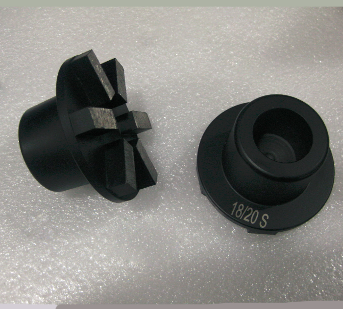 6 Segment Diamond Grinding Plug 3