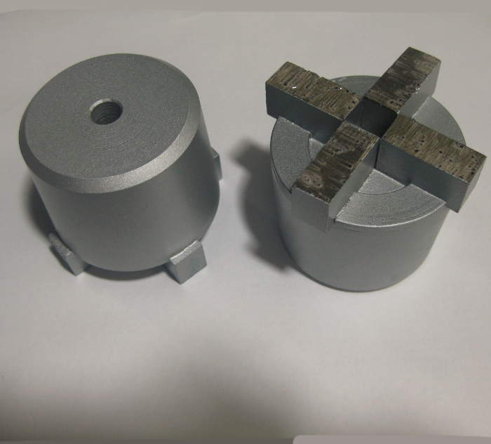 4 Segment Diamond Grinding Plug