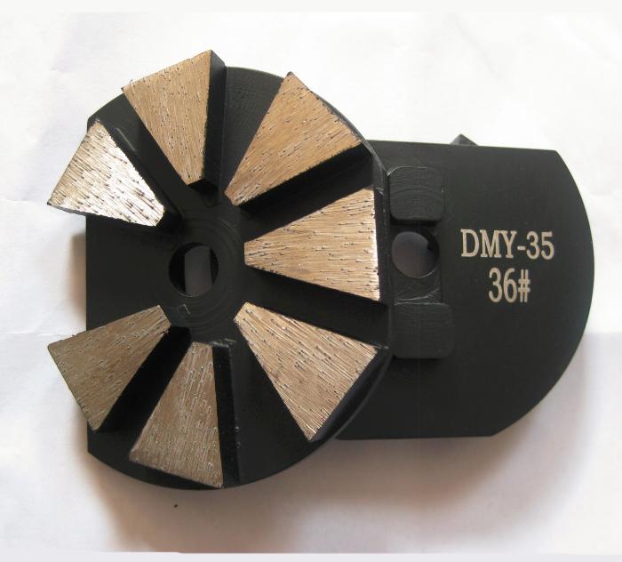 Surface Prep Tooling - STI 7-Seg Diamonds