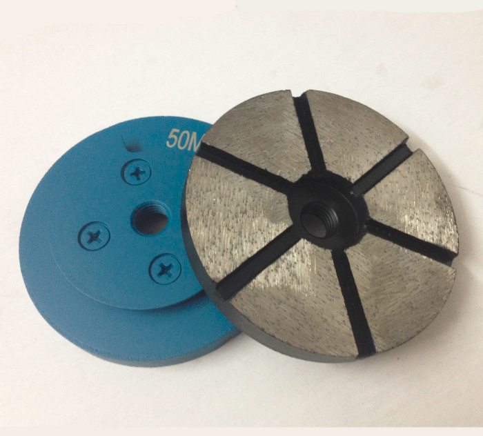 Diamond Grinding Puck with Snial Lock for Hand Grinder