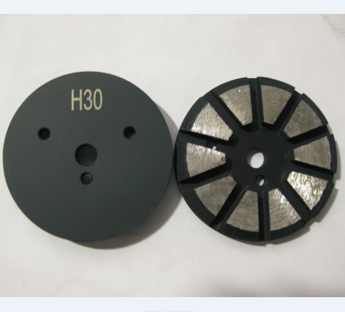 3 Inch Diamond Grinding Puck With 3 Holes Bolt on