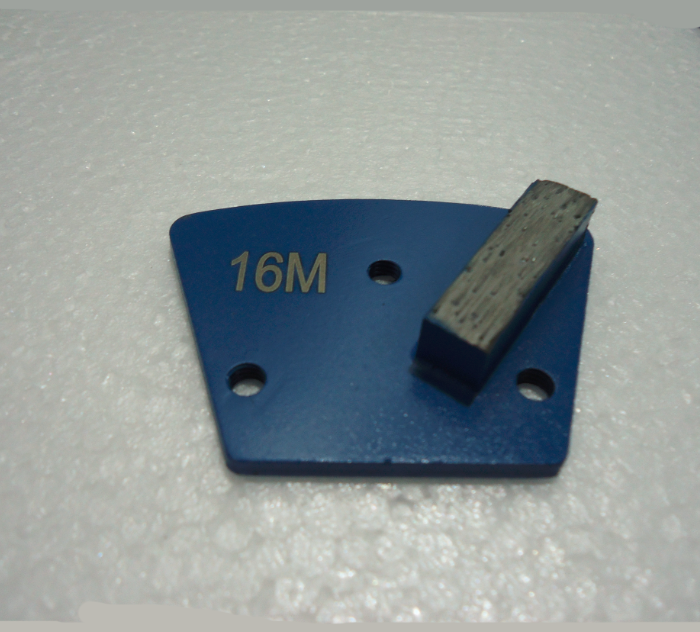 Diamond Grinding Trapezoid Plate Screwed On- Single Segment
