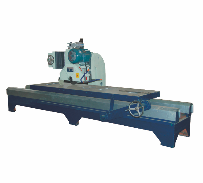 Stone Cutting Machine With Sealed Oil-limmersed Guide Rail