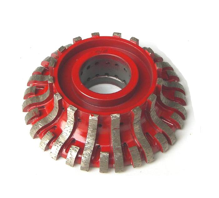 Sintered Segmented Rim CNC Profile Wheels