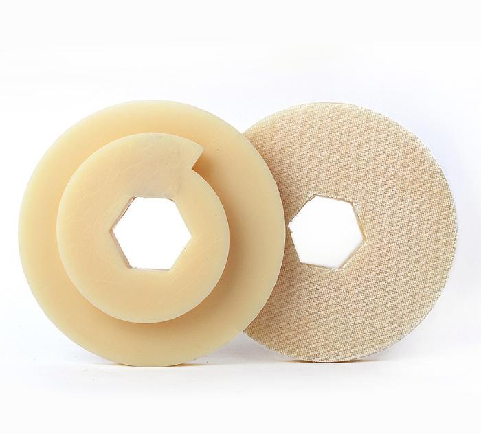 Snail Lock Plastic Back Pad Holder for diamond polishing pads