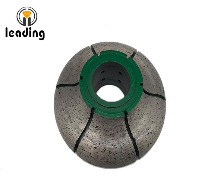 Sintered Continuous Rim CNC Profile Wheels