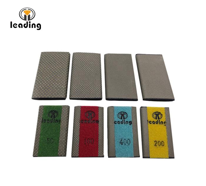Drainer Groove Diamond Hand Polishing pads