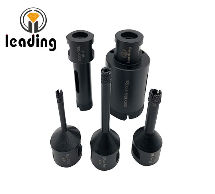 Super Premium Vacuum Brazed Dry Diamond Drill M14 or 5/8