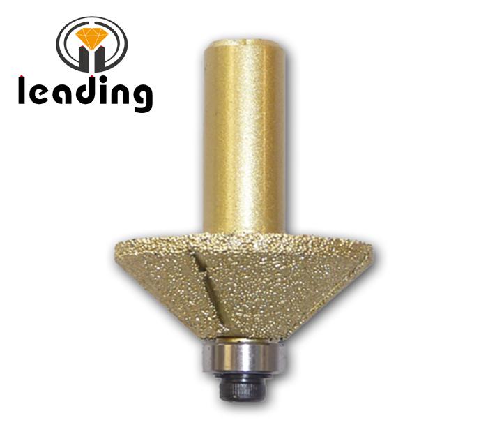 E15 Brazed Diamond Router Bit 1/2