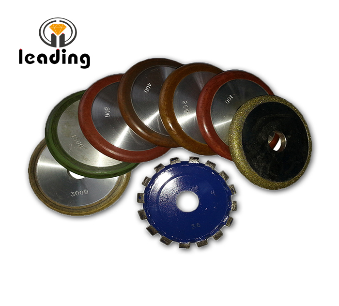 4 Inch (100mm) Diamond Fluting Wheels