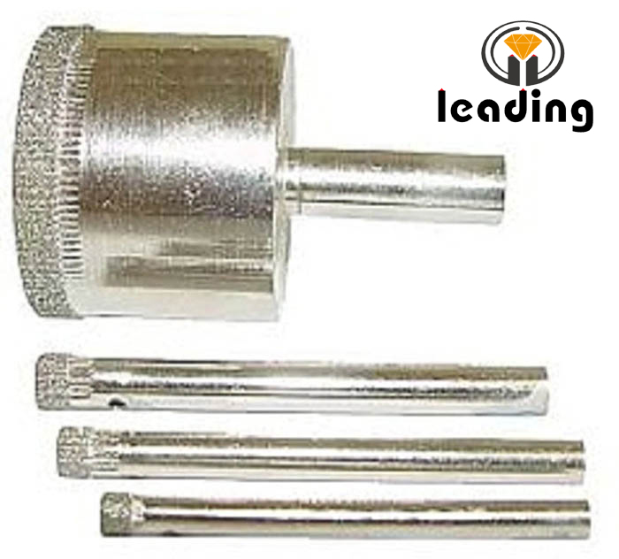 Electroplated Drill Bits for Marble, Glass, and Porcelain