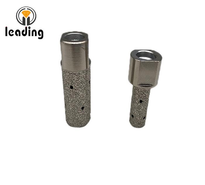 Vacuum Brazed Diamond Finger Bits M14 or 5/8