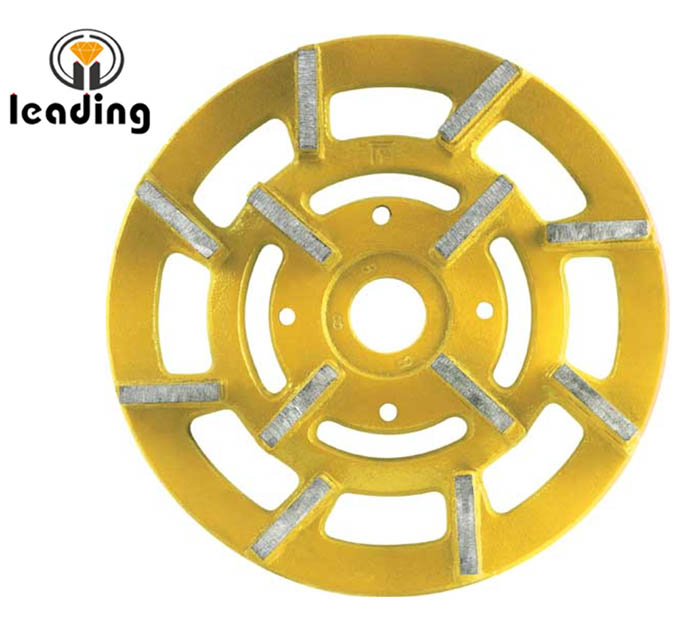 Radial Arm Diamond Grinding/Polishing Wheel/Disc