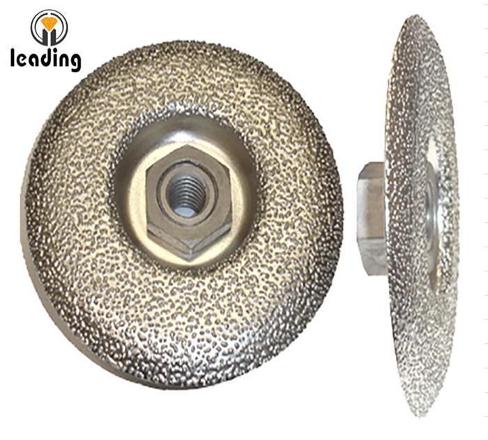 Vacuum Brazed Convex Diamond Cup Wheel