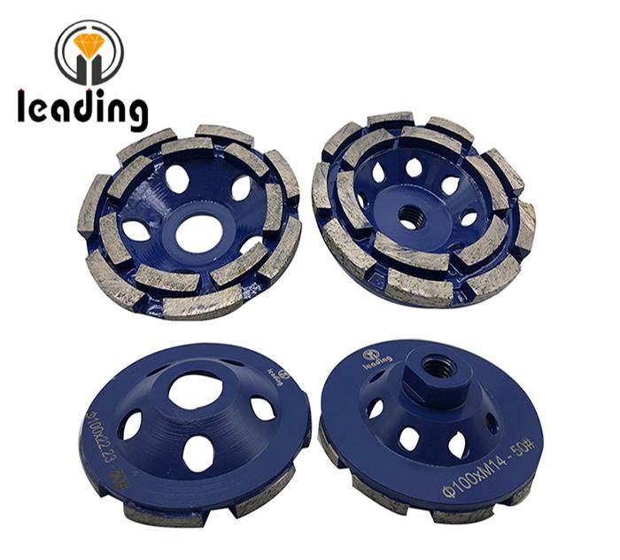 Premium Double Row Grinding Cup Wheels