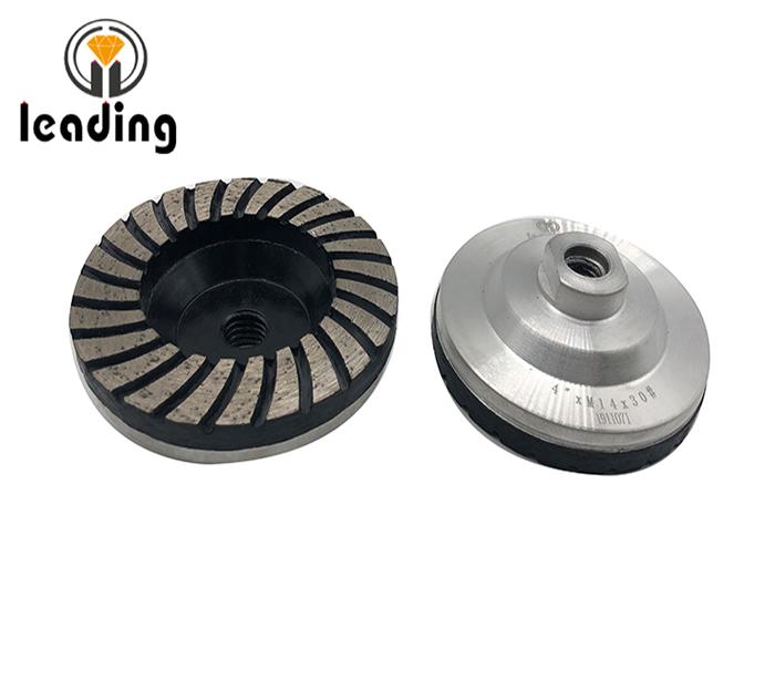 Aluminum Turbo Diamond Grinding Cup Wheels