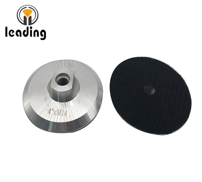Aluminium Velcro Backer Pad