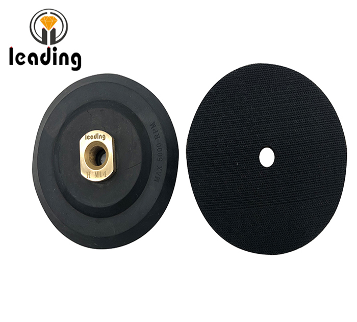Premium Rubber Velcro Backing Pad