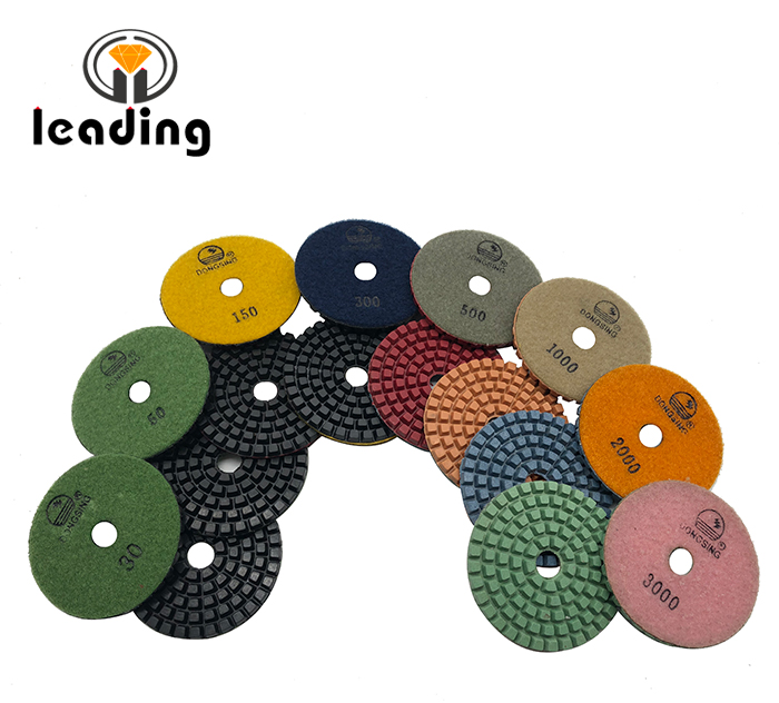 4DS5 - 4 Inch DONGSING Thick Polishing Pads