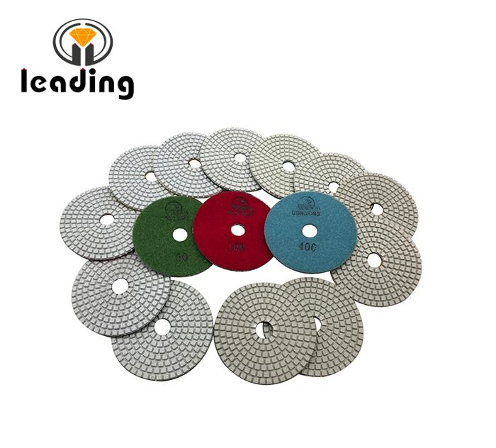 DS1W DONGSING White Flexible Polishing Pads