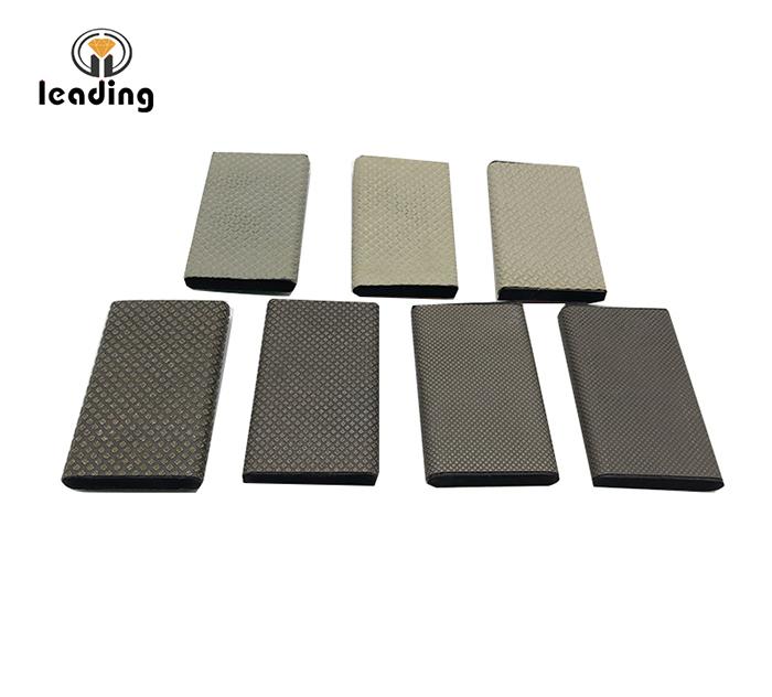 Drainer Groove Diamond Hand Polishing Pad