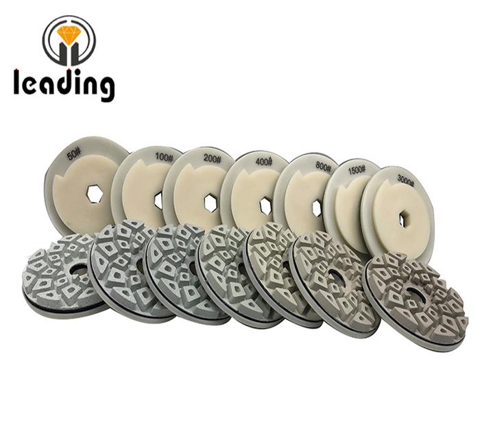 Snail Lock Edge Polishing Pads - Cellular