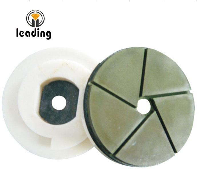 SuperShine Snail Lock Edge Polishing Pads - Bullnose