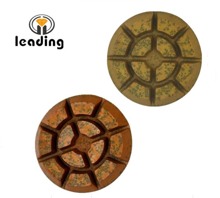 Resin-pregnant Diamond Metal Chips Floor Polishing Pads