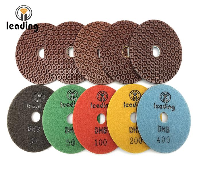Honeycomb Copper Bond Polishing Pads - FY