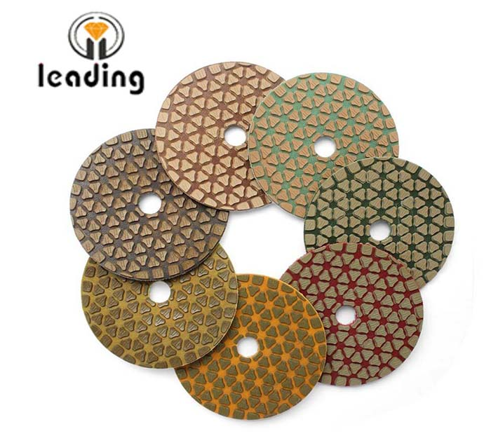 Leading Super Marble Dry Polishing Pads - JL