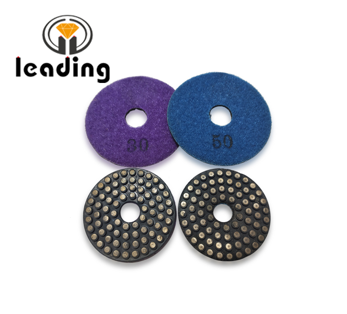Leading Dot Metal Bond Flexible Diamond Polishing/Grinding Pads