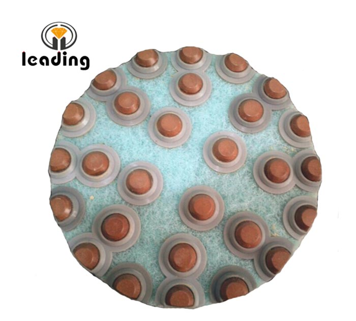 Diamond Dot Resin Flex Polishing Pads