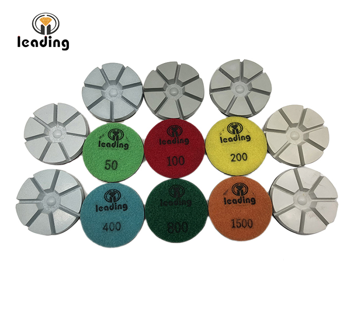 Super Shine Concrete Floor Resin Polishing Pads