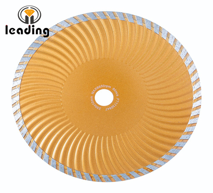 Cold Pressed Sintered Wave Turbo Blades