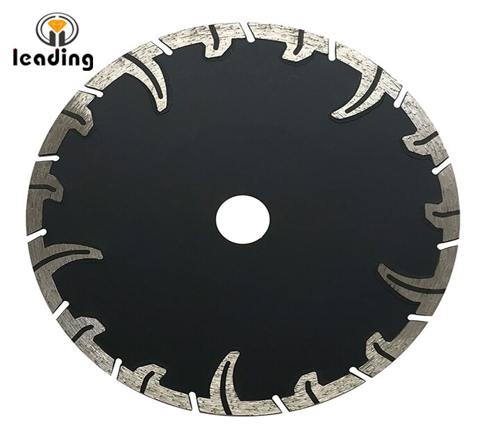 Hot Pressed Sintered AG-Blade With Protective Teeth(SHARP TEETH)