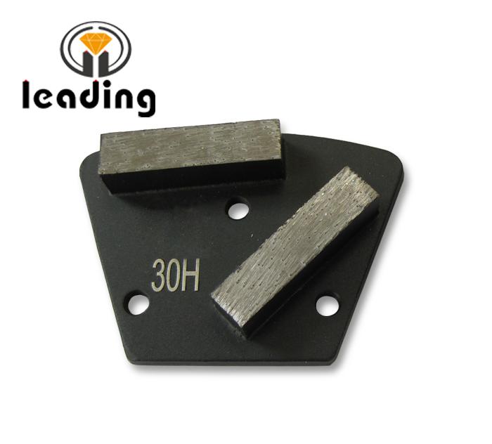 Trapezoid 2-Bar Diamond Grinding Plate