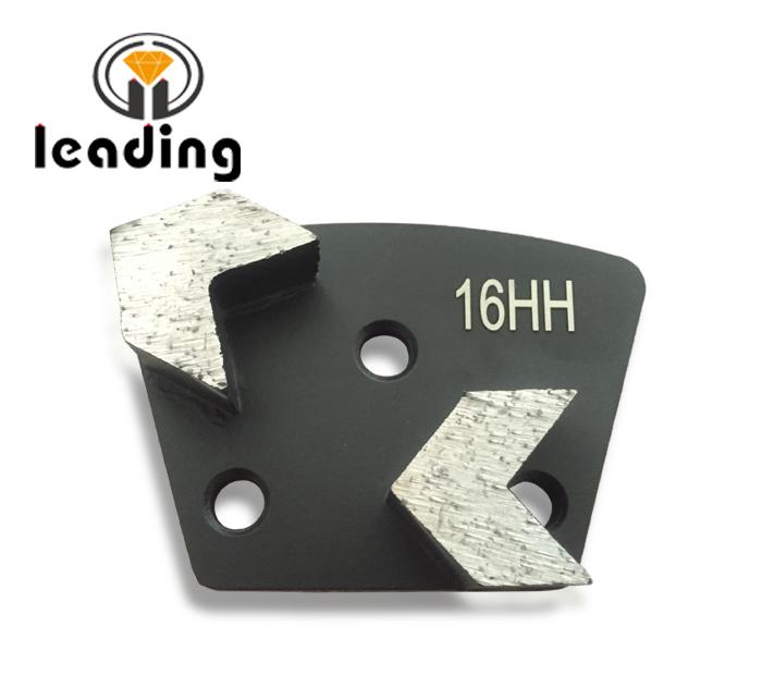Arrow Segment Diamond Grinding Trapezoid Plate Bolt On