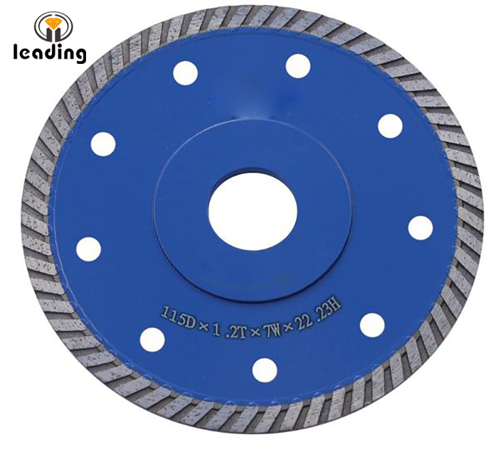Quartz Thin Turbo Flange Diamond Blade