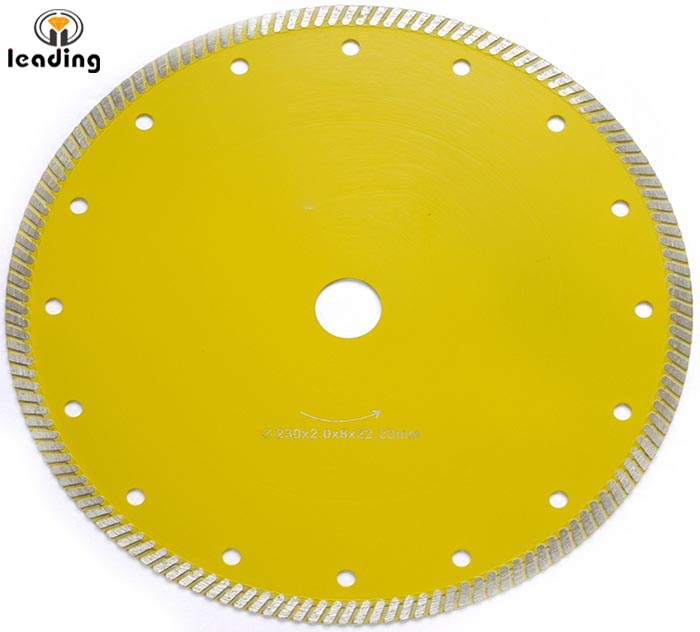 Super Thin Turbo Diamond Blade for 20mm thick Porcelain