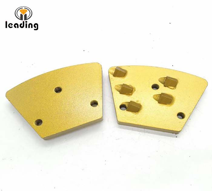Effective 1/3 Round PCD scrapers / PCD wing / PCD grinding shoes / PCD Cutter for epoxy or paint coatings removing